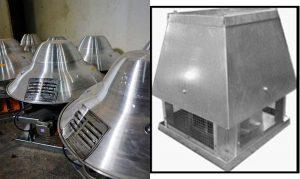 هواکش(اگزاست فن) سانتریفوژ سقفی