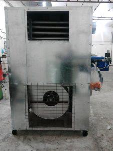 کوره هوای گرم صنعتی( هیتر )